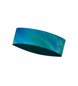 Slim Headband Buff Shining Turquoise