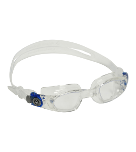 Gafas Aqua Sphere MAKO Clear Lens  Clear/Blue Buckles