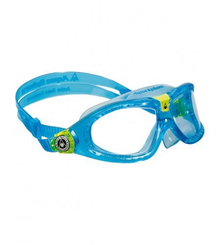 Gafas Aqua Sphere SEAL KID2 Clear Lens Turquesa/Lime LC
