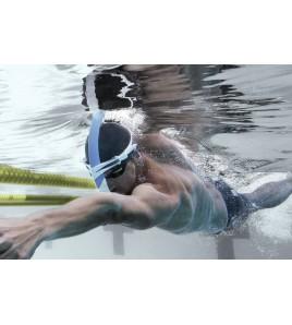 Tubo Natación Michael Phelps Focus Swim Snorkel Negro/Lima