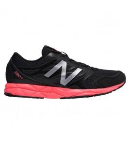 New Balance W 590  Negro-Rosa