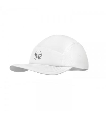 Gorra Buff Run Cap Solid White
