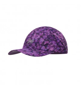 Gorra Buff Pro Run Cap R-Adren Purple Lilac