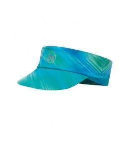 Visera Buff Pack Run Visor Shining Turquoise